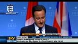 28/06/2010 - Mondiali, Cameron commenta la sconfitta dell'Inghilterra