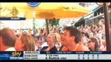 29/06/2010 - Sudafrica 2010, i tifosi dell'Olanda assistono alla vittoria