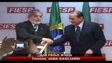 30/06/2010 - Berlusconi dal Brasile: La crisi è ormai alle spalle
