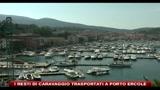 I resti di Caravaggio trasportati a Porto Ercole