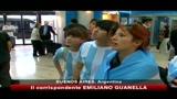 Argentina, festa all'aeroporto nonostante l'eliminazione