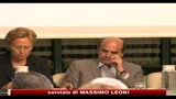 08/07/2010 - Bersani, fiducia su manovra  paura e irresponsabilit