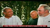 Cuba, prime foto di Castro a un evento pubblico dal 2006