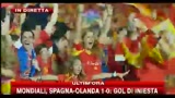 La Spagna  campione del mondo