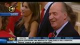 Spagna, il saluto di re Juan Carlos alla Nazionale