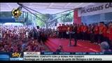 Spagna, il discorso di Zapatero e dei giocatori