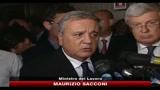14/07/2010 - Sacconi interviene sulla questione Telecom