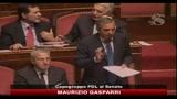 15/07/2010 - Manovra, Gasparri: abbiamo garantito servizi essenziali