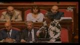 15/07/2010 - Manovra, aula del Senato, intervento di Finocchiaro e Gasparri
