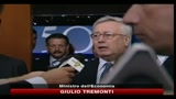 15/07/2010 - Tremonti, il Senato ha migliorato la manovra