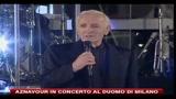 20/07/2010 - Aznavour in concerto al Duomo di Milano