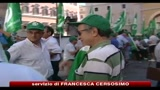 22/07/2010 - Roma, sit-in degli agricoltori contro la manovra finanziaria