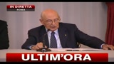 Cerimonia del Ventaglio al Quirinale, parla il presidente Napolitano