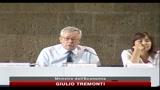 23/07/2010 - Tremonti: la sanità nel Mezzogiorno deve essere efficiente come al Nord
