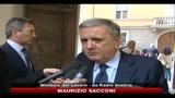 27/07/2010 - Fiat, Sacconi, posta più alta, puntare a interesse paese