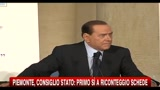 Berlusconi, mi auguro non si voglia ribaltare la scelta dei cittadini piemontesi