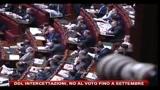 30/07/2010 - Ddl intercettazioni, no al voto fino a fine settembre