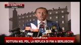 30/07/2010 - Rottura nel Pdl, la replica di Fini a Berlusconi