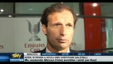 Allegri: Soddisfatto della prestazione contro l'Arsenal