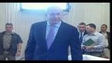 09/08/2010 - Blitz Flotilla, Netanyahu depone di fronte a commissione