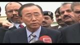 15/08/2010 - Alluvioni in Pakistan, arriva Ban Ki-Moon: Il mondo è con voi