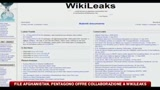 18/08/2010 - File Afghanistan, Pentagono offre collaborazione a Wikileaks