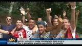 23/08/2010 - I tifosi milanisti inneggiano: Ibra! Ibra!