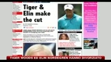 Tiger Woods ed Elin Nordegren hanno divorziato