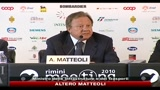 Fiat, Matteoli: le sentenze vanno rispettate