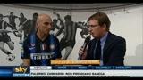 Le telecamere Sky negli spogliatoi di Inter e Milan
