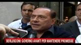 26/08/2010 - Berlusconi: Governo avanti per mantenere promesse