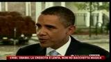 30/08/2010 - Crisi, Obama: la crescita è lenta, non ho la bacchetta magica