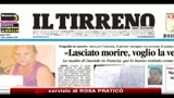 31/08/2010 - Nizza, la madre di Franceschi, è stato picchiato