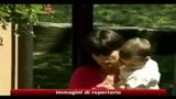 31/08/2010 - Annamaria Franzoni al funerale del suocero