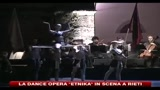 Mvula Sungani incanta Rieti con la dance opera Etnika