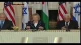 Medio Oriente, conferenza stampa di Hillary Clinton