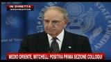 Medio Oriente, Mitchell: positiva prima sezione colloqui