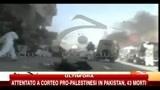 Attentato a corteo pro-palestinesi in Pakistan, 43 morti