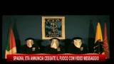 Spagna, Eta annuncia cessate il fuoco con video messaggio