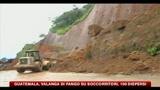 Guatemala, valanga di fango su soccorritori, 100 dispersi
