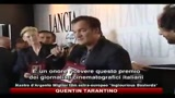 10/09/2010 - Venezia 2010: Tarantino riceve il nastro d'argento per Inglorious Basterds