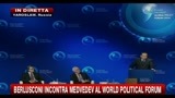 10/09/2010 - 1- Berlusconi al World Political Forum: Russia nel G8