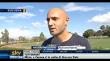 Palermo-Brescia: intervista a Maccarone