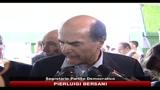 Bersani: Berlusconi fa prendere schiaffi all'Italia