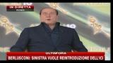 4- Berlusconi: Nostra moralità è mantenere le promesse