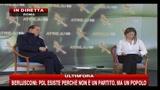 3- Berlusconi: La sinistra ha ancora programmi irragionevoli