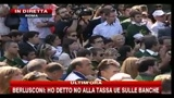 7- Berlusconi: Non pensate solo all'assunzione