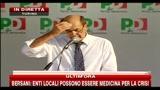 9 - Bersani: Idee per il Mezzogiorno, legalità e lavoro