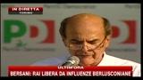 12 - Bersani: Necessario dare regole su immigrazione