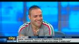 Miccoli, attaccante Palermo, ospite a Sky Sport24